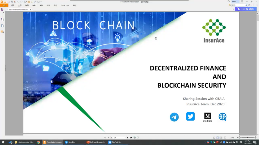 【AI Cloud Workshop】Is Decentralized Finance the new sexy?